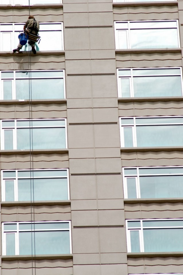 High Rise Window Cleaning Showroom | Awarded #1 in Denver CO