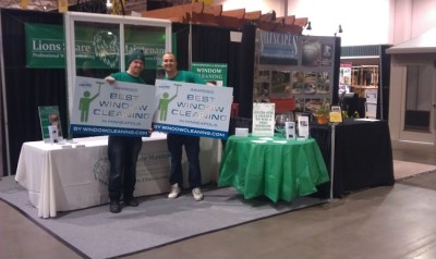 2012 Home And Garden Show Booth. Voted Best Window Cleaners By  WindowCleaning.com