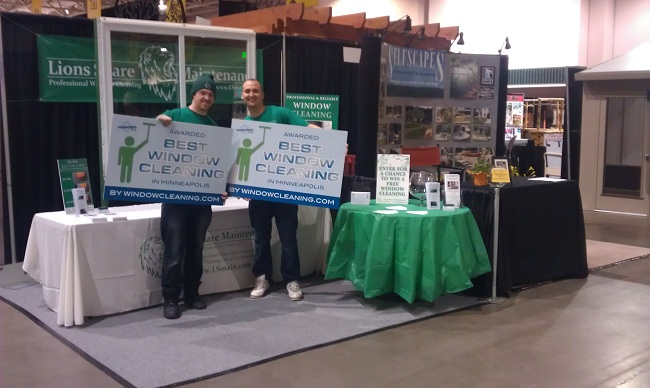 » 2012 Home And Garden Show | Another Great Lions Share Maintenance Project  In Saint Paul